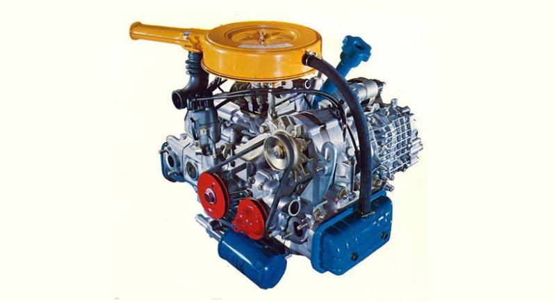 Боксеровият двигател на Subaru